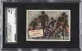 "Non-Sport Cards:General, 1954 Topps Scoop ""Notre Dame's 4 Horsemen"" #110 SGC 88 NM/MT 8...."