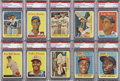Baseball Cards:Lots, 1958 Topps PSA-Graded Collection (224) ...