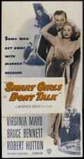 """Movie Posters:Crime, Smart Girls Don't Talk (Warner Brothers, 1948). Three Sheet (41"""" X81""""). Crime...."""