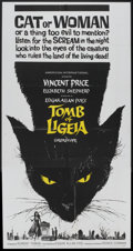 "Movie Posters:Horror, The Tomb of Ligeia (American International, 1965). Three Sheet (41"" X 81""). Horror...."