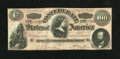 """Confederate Notes:1864 Issues, CT65/492 """"Havana Counterfeit"""" $100 1864.. ..."""