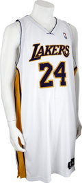 Basketball Collectibles:Uniforms, 2006-07 Kobe Bryant Game Worn Jersey....
