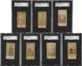 Boxing Cards:General, 1888 N332 S.F. Hess Boxers SGC-Graded Collection (7)....