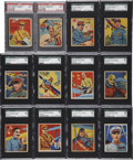 "Non-Sport Cards:General, 1933 National Chicle ""Sky Birds"" Completely Graded Near Set (85/108). ..."