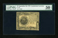 Colonial Notes:Continental Congress Issues, Continental Currency September 26, 1778 $7 PMG About Uncirculated50 EPQ....