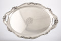 Silver Holloware, American:Trays, AN AMERICAN SILVER TRAY. Gorham Manufacturing Co., Providence,Rhode Island, 1948. Marks: GORHAM, (lion-anchor-G), ST...