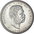 Coins of Hawaii, 1883 50C Hawaii Half Dollar MS63 PCGS....