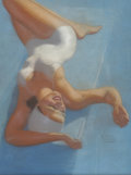 Pin-up and Glamour Art, EARL MORAN (American 1893 - 1984). Figures Don't Lie, 1942.Pastel on board. 24 x 18.5 in.. Signed lower right. ... (Total: 2Items)