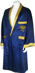 Boxing Collectibles:Memorabilia, 1942 Sugar Ray Robinson Fight Worn Robe....