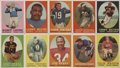 Football Cards:Sets, 1958 Topps Football Complete Set (132)....