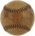 Autographs:Baseballs, Early 1930's Walter Johnson Single Signed Baseball....