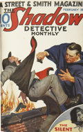 Entertainment Collectibles:Comic Character, The Shadow (Street & Smith) February-July 1932 Bound Volume....