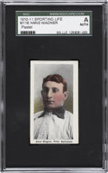 Baseball Cards:Singles (Pre-1930), 1910-11 M116 Sporting Life Hans Wagner SGC Authentic....