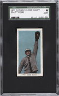 Baseball Cards:Singles (Pre-1930), 1911 E94 George Close Candy Ty Cobb SGC Authentic....