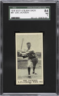 Baseball Cards:Singles (Pre-1930), 1916 M101-4 Sporting News Joe Jackson #87 SGC 84 NM 7 ....