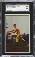 Baseball Cards:Singles (1950-1959), 1953 Bowman Color Gil Hodges #92 SGC 96 Mint 9....