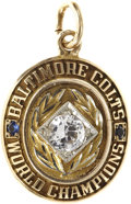 Football Collectibles:Others, 1959 Baltimore Colts NFL Championship Pendant....