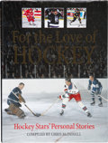 Hockey Collectibles:Others, 1997 For the Love of Hockey First Edition Signed by 83 NHL Greats....
