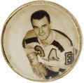 Hockey Collectibles:Others, 1949-51 Pete Babando Bee Hive Hockey Ring....