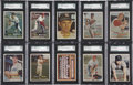 Baseball Cards:Lots, 1957 Topps Baseball SGC-Graded Collection (56). ...