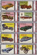 "Non-Sport Cards:General, 1954-55 Topps ""World On Wheels"" Complete Set (180)...."