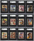 "Non-Sport Cards:General, 1950 Bowman ""Wild West"" High Grade Complete Set (180)...."