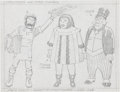 Original Comic Art:Sketches, Jack Kirby Space Ghost Character Concept Drawing Original Art (undated)....
