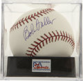 Autographs:Baseballs, Bob Feller Single Signed Baseball PSA Gem Mint 10....