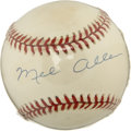Autographs:Baseballs, Mel Allen Single Signed Baseball....