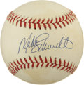 Autographs:Baseballs, Mike Schmidt Single Signed Baseball....