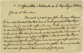 Autographs:U.S. Presidents, John Quincy Adams Autograph Letter Signed in the Third Person, ...
