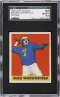 Football Cards:Singles (Pre-1950), 1948 Leaf Bob Waterfield #26 SGC 92 NM/MT+ 8.5....