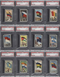 "Non-Sport Cards:General, 1963 Topps ""Flag Midgee"" PSA-Graded Collection (30). ..."