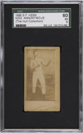 """Boxing Cards:General, 1888 N332 S.F. Hess """"Anonymous"""" SGC 60 EX 5...."""