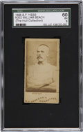 Boxing Cards:General, 1888 N332 S.F. Hess William Beach SGC 60 EX 5....