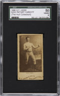 Boxing Cards:General, 1888 N332 S.F. Hess Patsey Cardiff SGC 50 VG/EX 4. ...