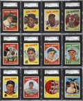 Baseball Cards:Sets, 1959 Topps Baseball High Grade Complete Set (572)....