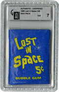 Non-Sport Cards:General, 1966 Topps Lost in Space Wax Pack GAI NM 7....