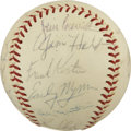 Autographs:Baseballs, 1968 Minnesota Twins Team Signed Baseball. ...