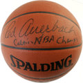 "Basketball Collectibles:Balls, Red Auerbach ""Celtics NBA Champs"" Single Signed Basketball. Thearchitect of the most established hoops dynasty that this ..."