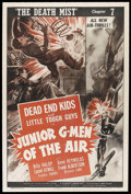 """Movie Posters:Action, Junior G-Men of the Air (Universal, 1942). One Sheet (27"""" X 41"""")Chapter 7 -- """"The Death Mist."""" Action Serial. Starring Bill..."""