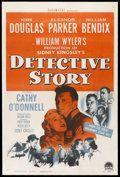 "Movie Posters:Crime, Detective Story (Paramount, 1951). One Sheet (27"" X 41""). Crime.Starring Kirk Douglas, Eleanor Parker, William Bendix, Cath..."