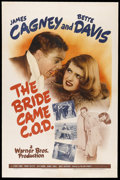 """Movie Posters:Comedy, The Bride Came C.O.D. (Warner Brothers, 1941). One Sheet (27"""" X41""""). Comedy. Starring James Cagney, Bette Davis, Stuart Erw..."""