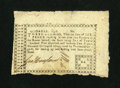 Colonial Notes:Georgia, Georgia 1776 6d Very Fine. This is a tougher denomination from the 1776 Sterling issue. It is a nicely signed example that h...