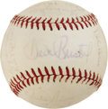 Autographs:Baseballs, 1971 Milwaukee Brewers Team Signed Baseball. ...