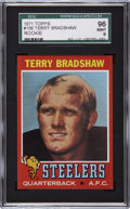 Football Cards:Singles (1970-Now), 1971 Topps Terry Bradshaw Rookie #156 SGC 96 Mint 9....