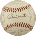 Autographs:Baseballs, 1969 Minnesota Twins Team Signed Baseball. ...
