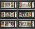 Baseball Cards:Lots, 1912 T202 Hassan Triple Folders SGC 60 EX 5 Collection (15)....