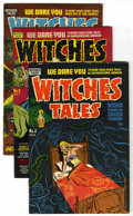 Golden Age (1938-1955):Horror, Witches Tales File Copy Group (Harvey, 1951-54) Condition: AverageFN.... (Total: 5 Comic Books)