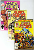 Modern Age (1980-Present):Miscellaneous, Marvel Modern Age Box Lot (Marvel, 1980s-'90s) Condition: Average VF/NM....